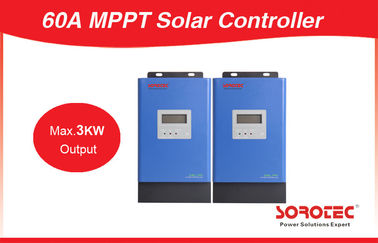 Cina 60A With Communication Port Max 3000W Output 48V MPPT Solar Charge Controller pabrik