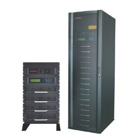 15KVA RS232 THDI 10 Modular UPS with 3 / 1 system , charge - discharge current value