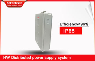 Cina The latest 2019 5G Communications equipment integral DC 20AH 1KW with Battery pack pabrik